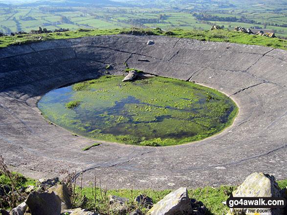 Water hole on Wolfscote Hill