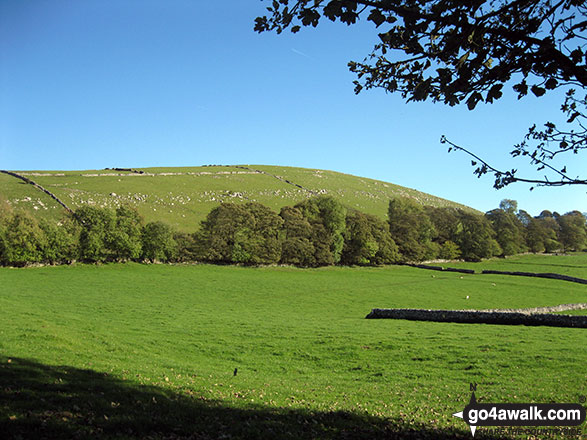 Wolfscote Hill from Beresford Dale