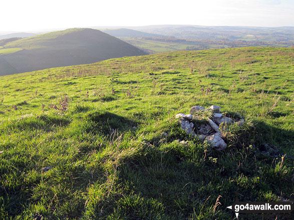 Gratton Hill summit cairn