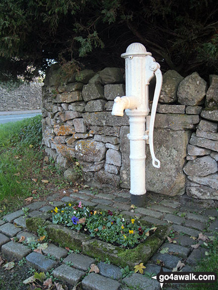 Old water pump in Alstonefield