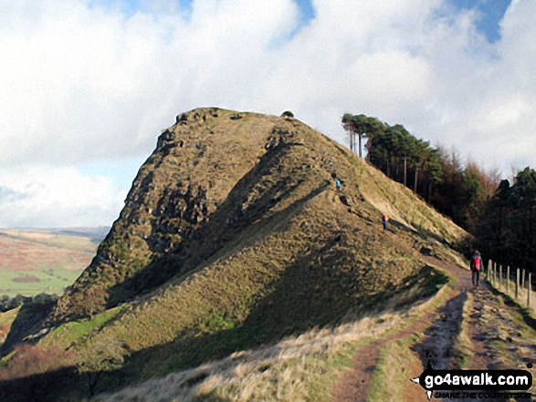 Back Tor (Hollins Cross) from Hollins Cross