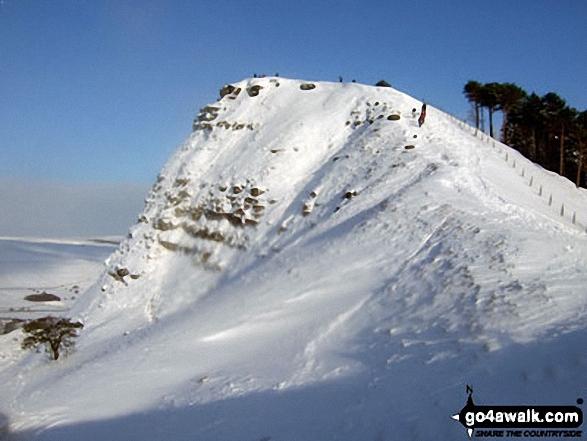 Back Tor (Hollins Cross) under a blanket of snow