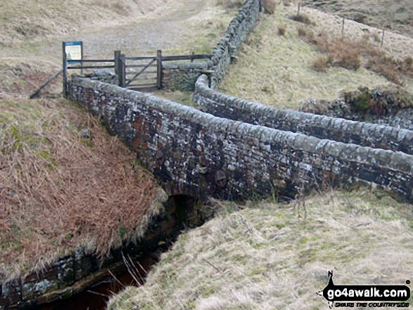 Salter's Brook Packhorse Bridge