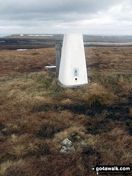Dead Edge End summit trig point