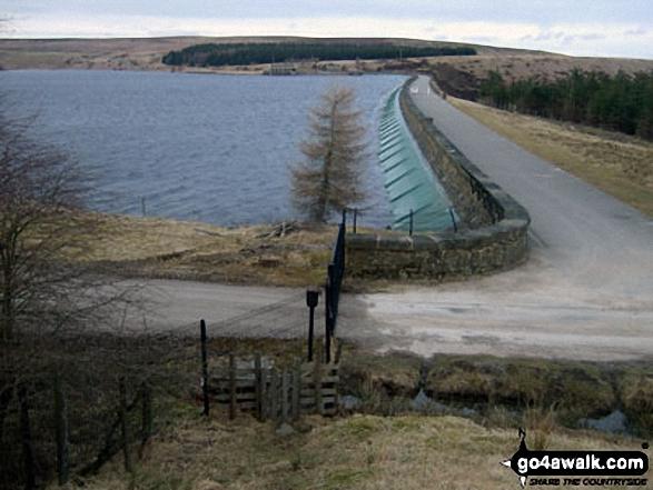 Winscar Reservoir Dam