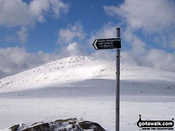 Walk Mayar walking UK Mountains in The East Mounth - Glen Shee and Mount Keen to Montrose  Angus    Scotland
