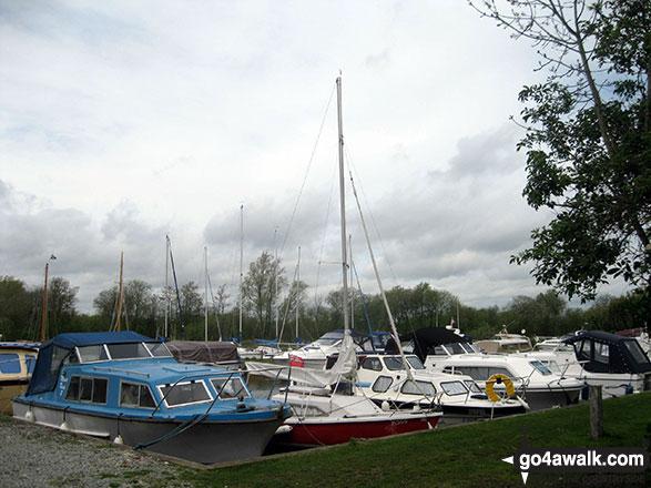 South Walsham Broad Marina Boat Yard