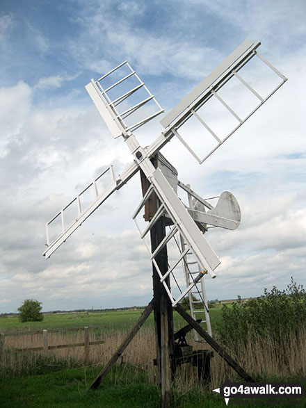 Palmer's Drainage Mill on the banks of Upton Dyke