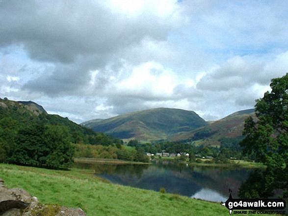 Seat Sandal towering above Grasmere