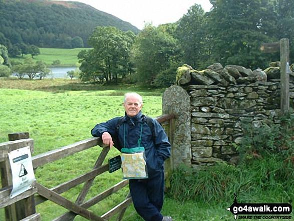 Gate near Loughrigg Tarn