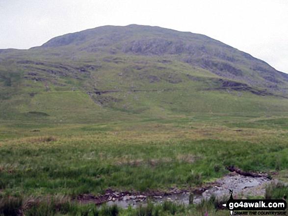 Moel Dyrnogydd from Crimea Pass (Bwlch y Gorddinan)