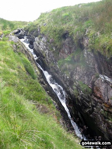 Waterfall SE of Moel Lledr