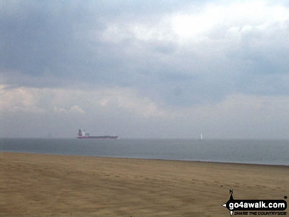 Ships in The Mouth of the Humber, Spurn Head