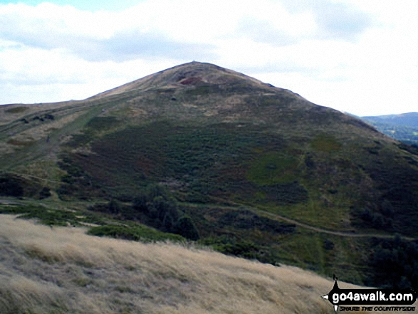 Sugarloaf Hill (Malverns) from the top of Malvern (Worcestershire Beacon)