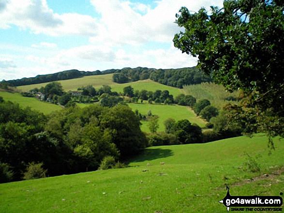 The countryside near West Malvern
