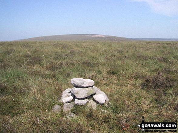 Black Mountain (South Top) summit cairn