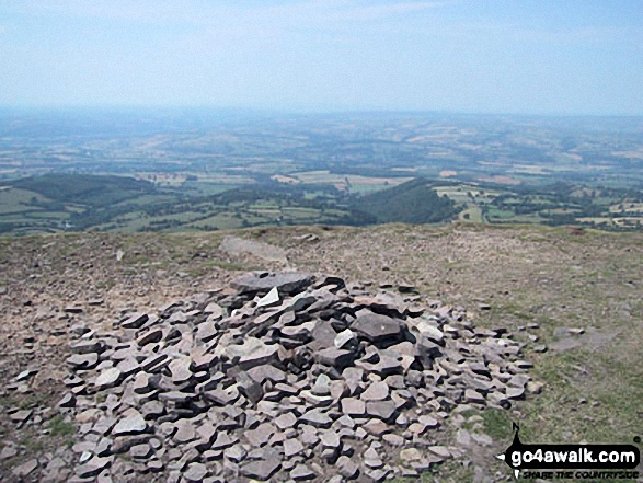 Twmpa (Lord Hereford's Knob) summit cairn
