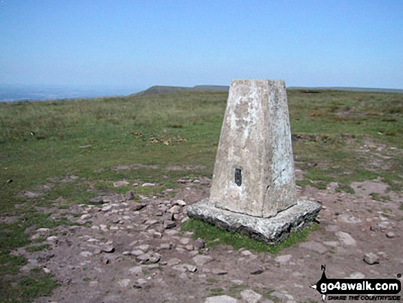 Rhos Dirion summit trig point