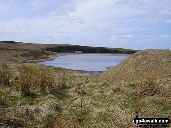 Upper Coldwell Reservoir from Will Moor