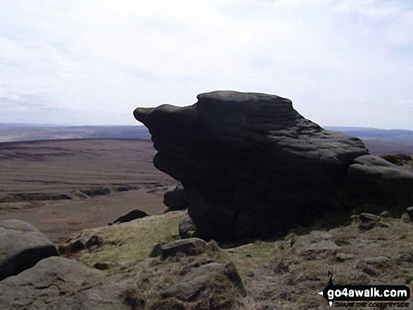Rock formations on the summit of Lad Law (Boulsworth Hill)