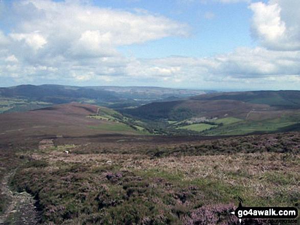 Nant y Pandy from the summit of Moel Fferna