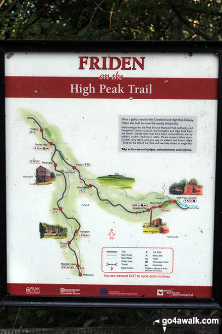 Friden Station on the High Peak Trail