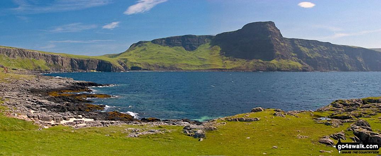Waterstein Head across Moonen Bay from Neist Fhiadhaich