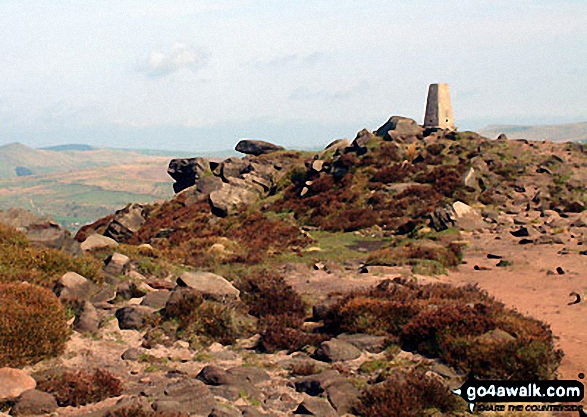 Walk The Roaches walking UK Mountains in The White Peak Area The Peak District National Park Staffordshire    England