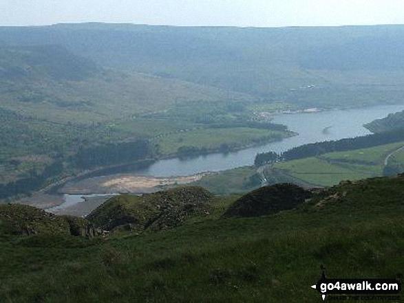 Torside Reservoir from Hey Edge