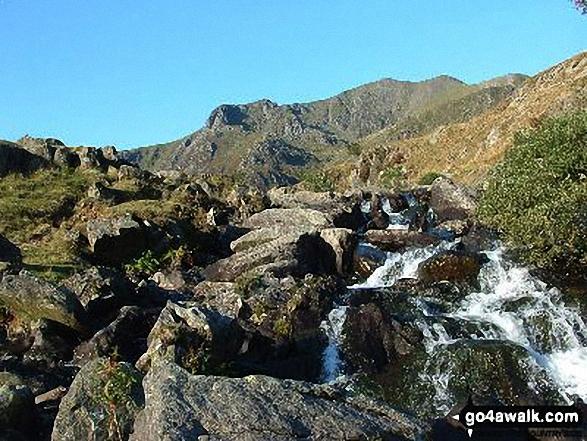 Y Garn (Glyders) from near Llyn Idwal