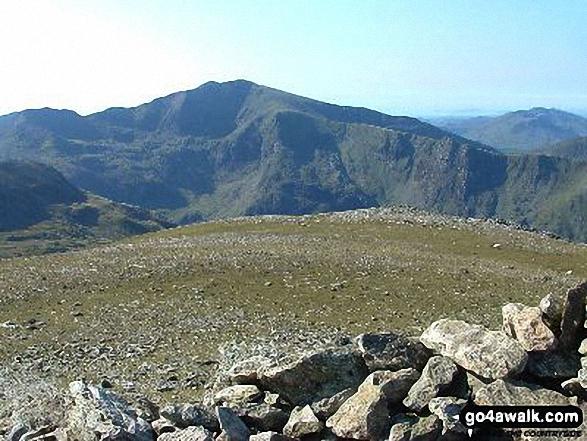 Snowdon (Yr Wyddfa) from Y Garn (Glyders) summit