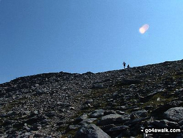Fell Runners on Glyder Fawr