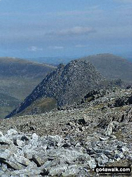 Tryfan from Glyder Fach