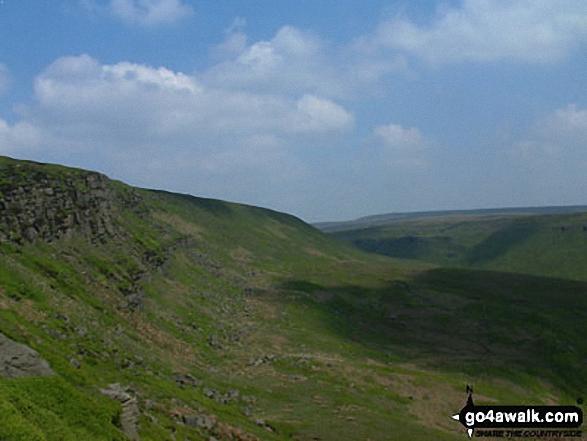 Black Hill (Soldier's Lump) from near Black Chew Head (Laddow Rocks)