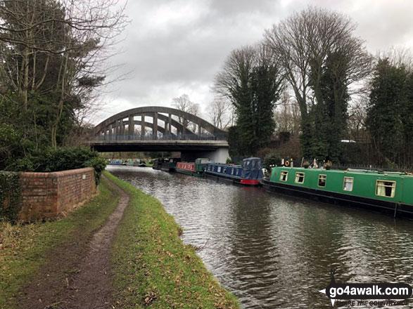 The Bridgewater Canal near Higher Walton