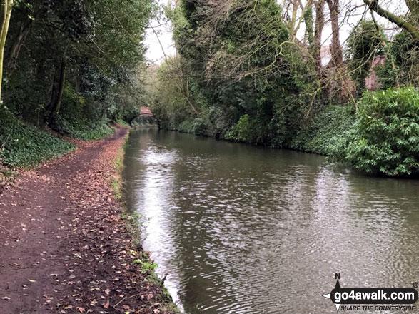 The Bridgewater Canal near Walton Hall