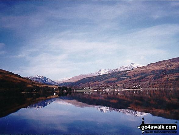 Loch Lomond at Dovne Bothy on the West Highland Way