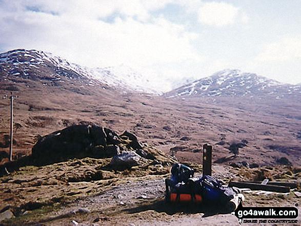 Near Rowcoish Bothy on The West Highland Way