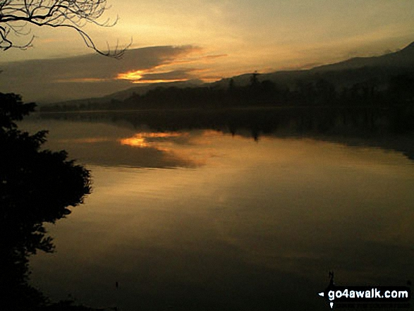 Sunset on Coniston Water