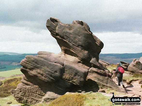 Rock Formations on The Roaches