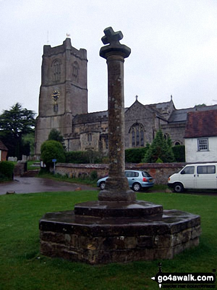 Aldbourne church