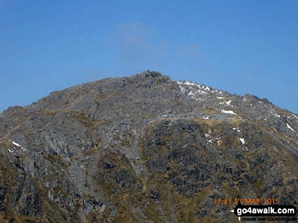 Cadair Idris (Penygadair) from the summit of Craig Cwm Amarch