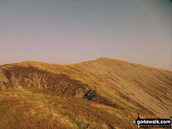 Mynydd Mawr (Llyn Cwellyn) from Craig y Bera
