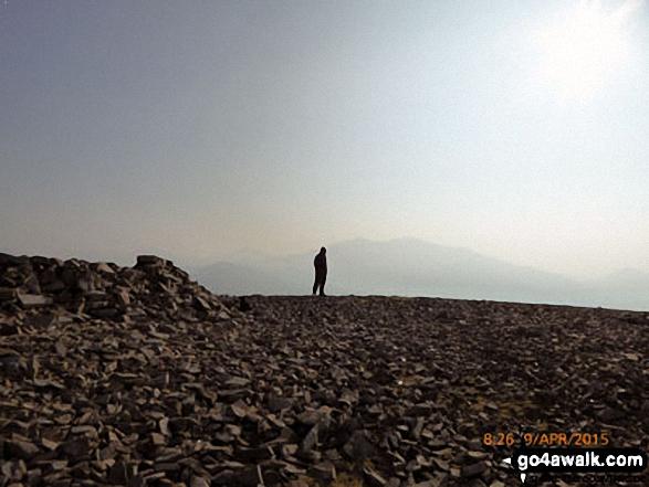Mynydd Mawr (Llyn Cwellyn) summit plateau