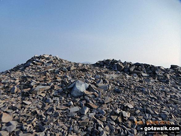 Summit cairn on Mynydd Mawr (Llyn Cwellyn)