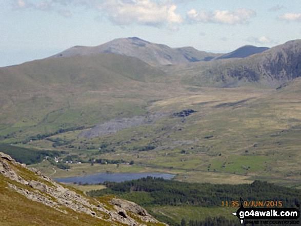 Mynydd Tal-y-mignedd from Bwlch Cwm-trwsgl