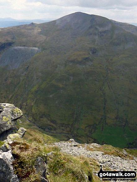 Moelwyn Mawr (North Ridge Top) and Moelwyn Mawr from Cnicht
