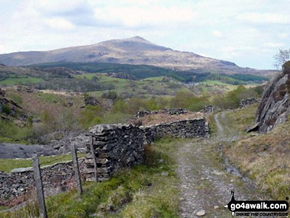 Carnedd Moel Siabod from the track to Roman Bridge