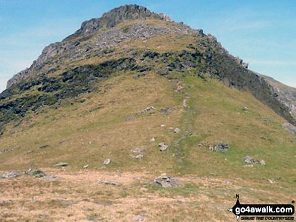 Craigysgafn from Bwlch Stwlan