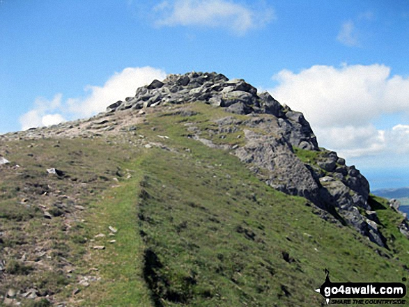 Y Garn (Glyders) summit